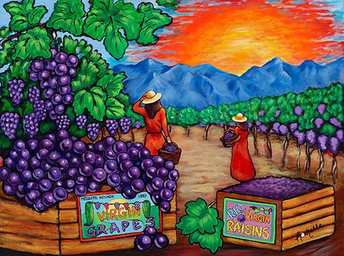 Virgin Valley Grapes